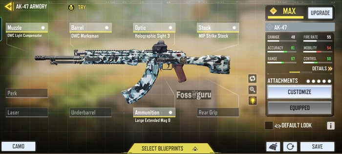 Call of duty mobile Multiplayer Upgrade Your Weapon