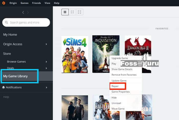Verifying Game Files for Dragon Age Inquisition Won't Launch Error