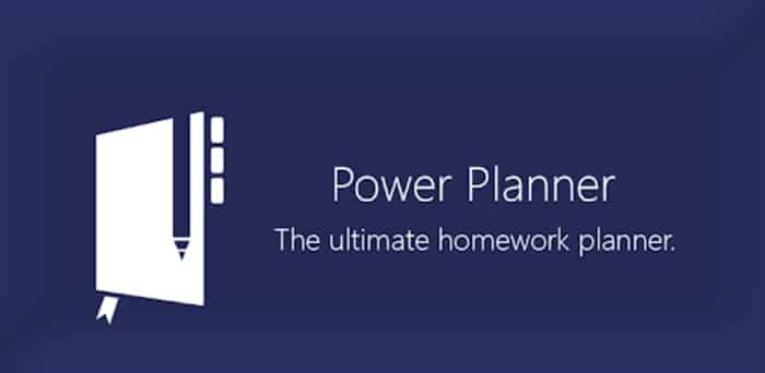 Power Planner-apps that help you study