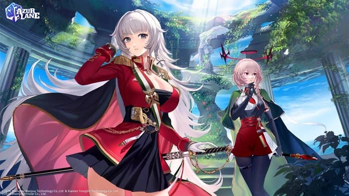 Best Anime Games for Android Azur Lane