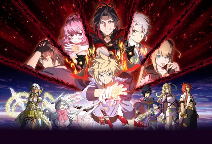 Best Anime Games for Android Tales of Crestoria (Free)