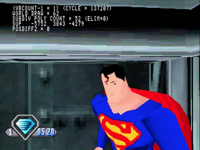 Superman: The New Adventures is another one of the failed superhero games.